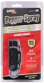 Pepper Spray with Hard Case and Quick Release